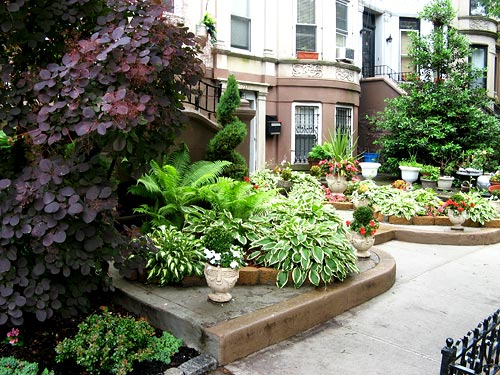 photo ny townhouse garden