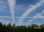 Every city in the USA has Chem Trails and no one in Government says one word about it.