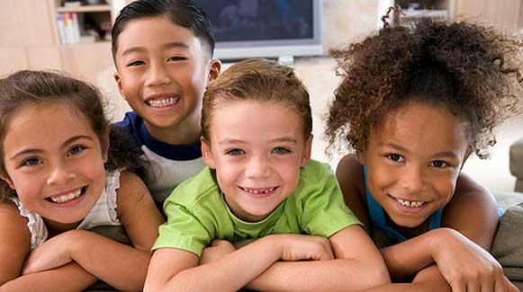 four happy children conscious lifestyles radio