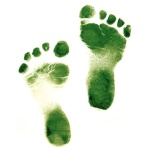 green footsteps generic
