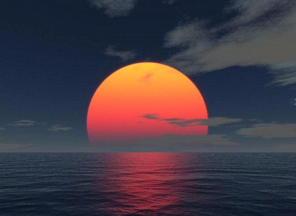 Sunrise over the ocean | Conscious Lifestyles Radio