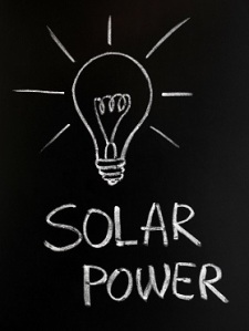 Light bulb, Solar power