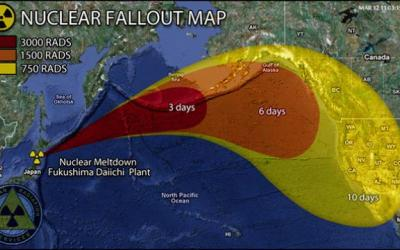 The Prevailing Winds Lead To The Spreading Of Nuclear Fallout As Far As The Western United States