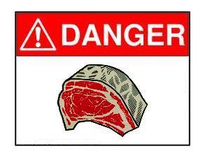 dangerous meat