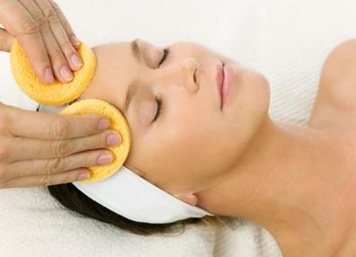 Facial Massage for Indian Bride